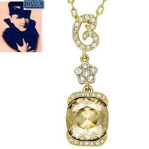 ネックレス シャンパン ダイヤモンド タイタニック ジュエリー コレクション celeb-cz-jewelry