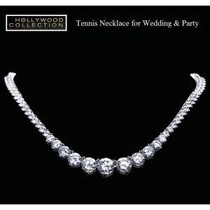 ネックレス ダイヤモンド テニスネックレス ペネロペ クルス アカデミー賞 コレクション|celeb-cz-jewelry|03