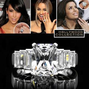 リング ダイヤモンド 婚約指輪 エンゲージリング 結婚記念日 セレブ ハリウッド コレクション|celeb-cz-jewelry