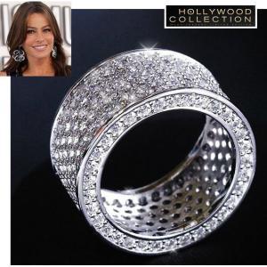 リング ダイヤモンド パヴェ カクテルリング ソフィア ベルガラ コレクション|celeb-cz-jewelry