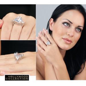 リング ダイヤモンド ティアドロップ カクテルリング 8キャラット ヴィクトリア ベッカム コレクション|celeb-cz-jewelry|07