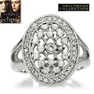 リング ダイヤモンド 婚約指輪 ベラのエンゲージリング 映画「トワイライト・エクリプス」より|celeb-cz-jewelry