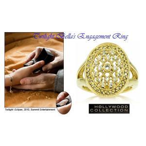 リング ダイヤモンド ゴールド 婚約指輪 ベラのエンゲージリング 映画「トワイライト・エクリプス」より|celeb-cz-jewelry|02