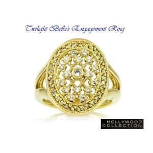 リング ダイヤモンド ゴールド 婚約指輪 ベラのエンゲージリング 映画「トワイライト・エクリプス」より|celeb-cz-jewelry|03