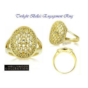 リング ダイヤモンド ゴールド 婚約指輪 ベラのエンゲージリング 映画「トワイライト・エクリプス」より|celeb-cz-jewelry|06