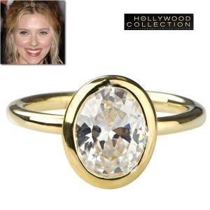 ダイヤモンド 14金 リング|セレブの指輪|スカーレット ヨ...