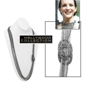 ネックレス ロング チェーン アンティークシルバー USA InStyle誌 雑誌掲載 celeb-cz-jewelry