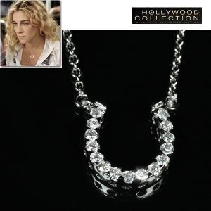 ネックレス 馬蹄 幸運 パヴェ サラ ジェシカ パーカー コレクション|celeb-cz-jewelry