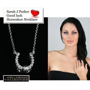 ネックレス 馬蹄 幸運 パヴェ サラ ジェシカ パーカー コレクション|celeb-cz-jewelry|07