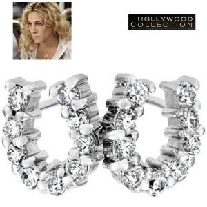 ピアス 馬蹄 幸運 ラッキー ホースシュー サラ ジェシカ パーカー コレクション|celeb-cz-jewelry