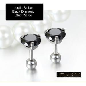 メンズ ピアス 片耳 黒ダイヤ ブラックダイヤモンド スタッド アダム ランバート コレクション|celeb-cz-jewelry|03