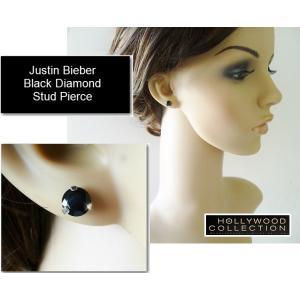 メンズ ピアス 片耳 黒ダイヤ ブラックダイヤモンド スタッド アダム ランバート コレクション|celeb-cz-jewelry|05