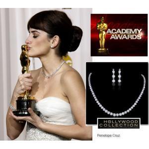 ネックレス セット ダイヤモンド ブライダル テニスネックレス ペネロペ クルス コレクション celeb-cz-jewelry 02