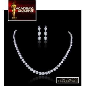ネックレス セット ダイヤモンド ブライダル テニスネックレス ペネロペ クルス コレクション celeb-cz-jewelry 03