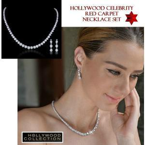 ネックレス セット ダイヤモンド ブライダル テニスネックレス ペネロペ クルス コレクション celeb-cz-jewelry 04