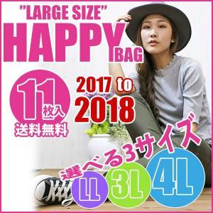 大きいサイズ レディース 新春 福袋 11枚入り 送料無料 LL 3L 4L|celeb-honey