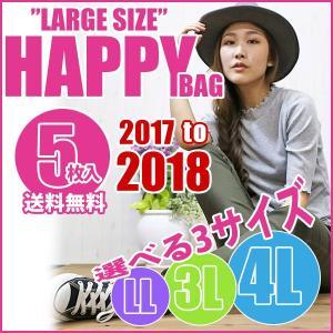 大きいサイズ レディース 新春 福袋 5枚入り 送料無料 LL 3L 4L|celeb-honey