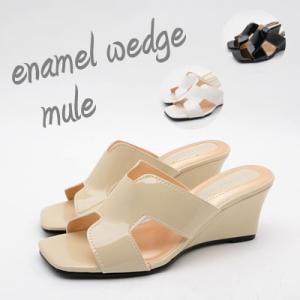 ブーツサンダル レディース シューズ 靴 くつ 美脚6.5cmウエッジミュール セレブ愛用  取寄|celeb-honey