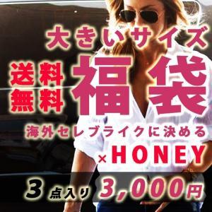 福袋 大きいサイズ福袋 3点入りで 3,000円の超ハッピーバッグ 大きいサイズレディース|celeb-honey