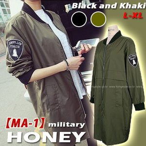 大きいサイズ レディース MA-1 ブルゾン ma-1ミリタリー ロングMA1 ジャケット 軍物 アーミー ARMY 取寄|celeb-honey