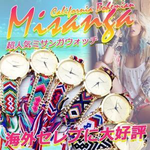 【大流行】ミサンガウォッチ 流行り ミサンガ時計 腕時計 ボヘミアン ブレスレット ジュエリー バングル 取寄|celeb-honey