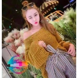トップス レディース 大きいサイズ ゆる編み ざっくり ニット トップス   取寄|celeb-honey