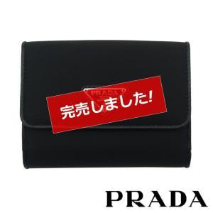 26f85d15bbd8 プラダ 財布 二つ折り レディース メンズ 新品 PRADA ナイロン 1MH523 UZ0 F0002