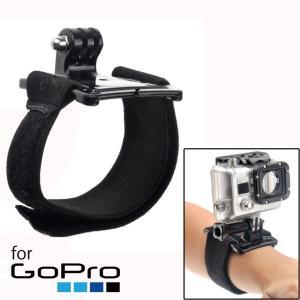GoPro/OSMO ACTION対応 ストラップ リスト バンド マウント