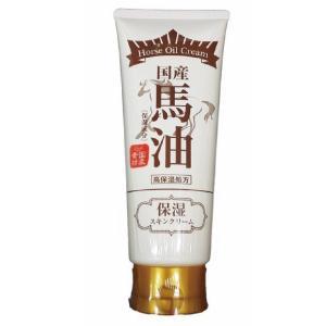 馬油クリーム 保湿スキンクリーム 馬油 日本製 国産 180g|celife