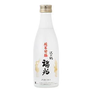 日本酒 300ml 【1ケース(12本)】純米吟醸 淡麗辛口 フルーティー 穏やか 沢の鶴 特撰純米吟醸「瑞兆」|cellar-house