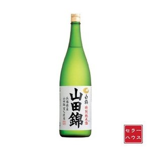 お酒 日本酒 1800ml 純米酒 淡麗やや辛口 特撰 白鶴 特別純米酒 山田錦 瓶|cellar-house