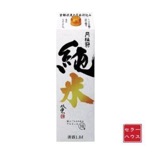 日本酒 1800ml 純米酒 濃醇やや甘口 度数控えめ 月桂冠 純米 1ケース(6本入)|cellar-house
