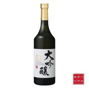 日本酒 720ml 大吟醸 淡麗やや辛口 フルーティー 月桂冠 大吟醸|cellar-house
