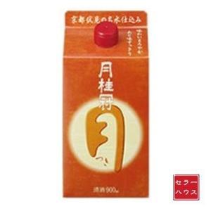 日本酒 900ml すっきり まろやか 月桂冠 つき 【1ケース(6本入)】 cellar-house