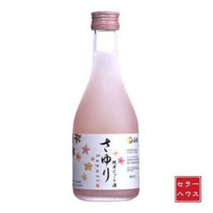 日本酒 にごり酒 300ml 濃醇甘口 すっきり さわやか 上撰 白鶴 純米にごり酒 さゆり 瓶 3...