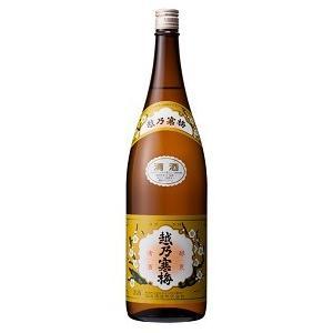 淡麗辛口 キレ味 越乃寒梅 普通酒 白ラベル 1800ml|cellar-house