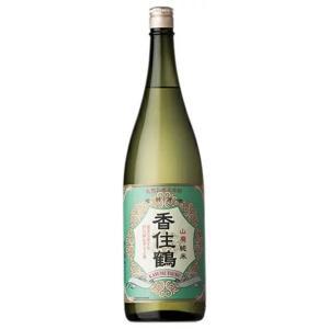 日本酒 1800ml 純米酒 淡麗辛口 芳醇 酸味 香住鶴 山廃純米酒 (青ラベル)|cellar-house