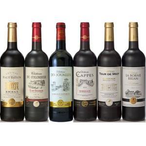 ボルドーシュペリュール入り金賞ボルドー赤ワイン6本セット 送料無料|cellar-house