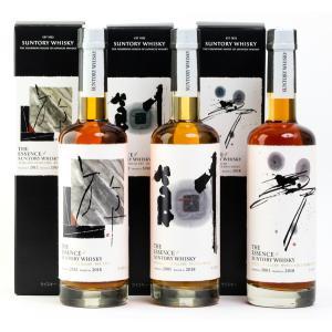 サントリー エッセンスウイスキー2018 THE ESSENCE 山崎・白州・知多シリーズ 3本セット 送料無料|cellar-house