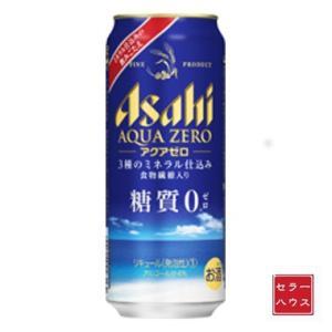 アサヒ アクアゼロ 缶 500ml 【1ケース(24本入り)】 cellar-house