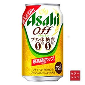 アサヒ オフ 缶 350ml 【1ケース(24本入り)】 cellar-house