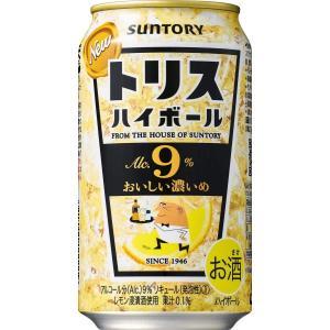 トリスハイボール缶 9% キリッと濃いめ 350ml 【1ケース (24本入り)】|cellar-house