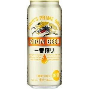 ビール beer キリン一番搾り生ビール 缶 500ml 【1ケース(24本入り)】 国産ビール ご...