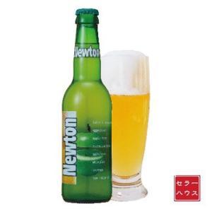 ニュートン(青リンゴビール) 瓶 330ml 【1ケース(24本入り)】 cellar-house