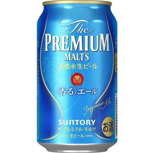 サントリー ザ プレミアムモルツ <香る>エール  缶 350ml 【1ケース(24本入り)】 高級 ビール ご贈答 割安 送料別|cellar-house