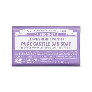 オーガニック原料から作られたカスチール石鹸*。 これ1本で顔も体も洗え、さらにメイクまで落とせます。...