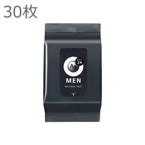 資生堂 エージーデオ24 メンズボディシート 無香 30枚