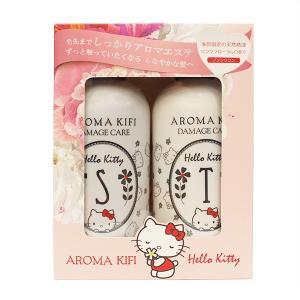 AROMA KIFI(アロマキフィ) ダメージケア ハローキティ限定ペアセット シャンプー500ml&トリートメント500ml