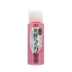 コーセーオリジナル成分の『黒糖発酵エキス(※1)』を高濃度配合。  乾燥やかさつきが気になりだした肌...
