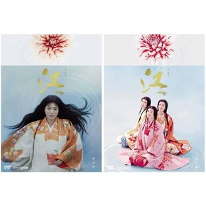 NHK大河ドラマ 江 姫たちの戦国 完全版 DVD-BOX 第壱集と第弐集のセット